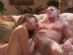 Paola Rey loves the way her boyfriends cock tastes and she cant get