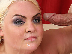 BBW blonde fatty Cheryl Lee