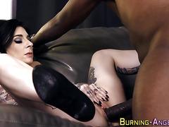 Goth anal porr