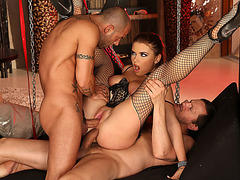 Russian slave loves double penetration