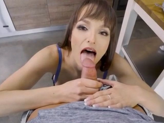 Stepmom Blowjob Before School