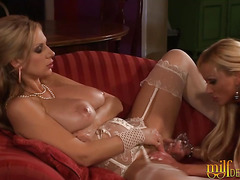 Two Horny Milfs With Big Tits Love Lesbian Sex
