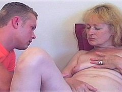 Blond MILF's Hot Pussy Licked To Orgasm