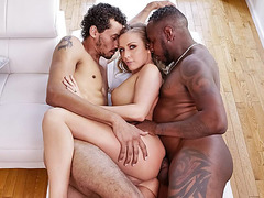 Big black cocks tag teaming kinky tutor