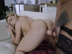 Zoey Taylors eyes roll back in orgasmic pleasure