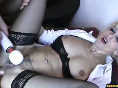I fucked in the ass a real hooker milf part 3