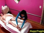 Asian masseuse gives kinky massage