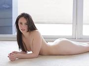 Sexy blonde Veronica Radke gets fucked hard by her boyfriend inside his house