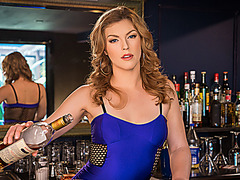 VR BANGERS Hot sex fantasy with sweet barmaid at the pub