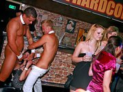 Threesome at a sex party