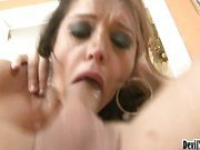 Nasty MILF Squirts On Cock While Getting Fucked Hardcore