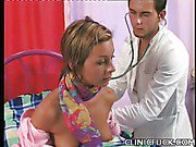 Sexy Babe Fucks Her Doctor