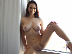 Gorgeous Ashley in kinky sex filmed in POV with 3D surround sound