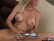 blonde girl sweet after orgasm