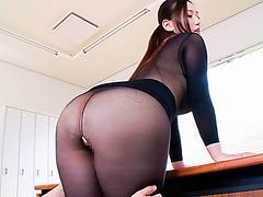 Lucky boss fucked her hot secretary in the office