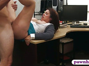Housewife pawns her pussy and screwed
