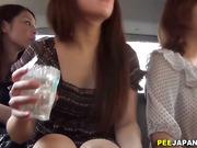 Spex asians piss in car