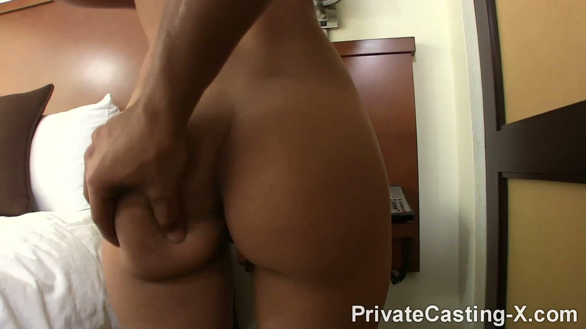 Casting Couch Latina Creampie
