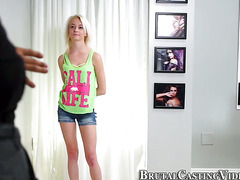 Naive teen at casting call