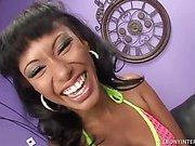 Ebony Beauty Punished Internally