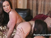 MILF and husband fuck their Johnys gorgeous fiancee