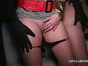 VIP dress up party with hardcore group sex