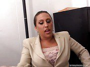 Allesandra Gets Fucked Every Morning In The Office