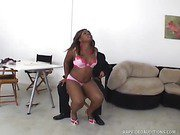Hot Black Babe Tries Out For A Rap Video