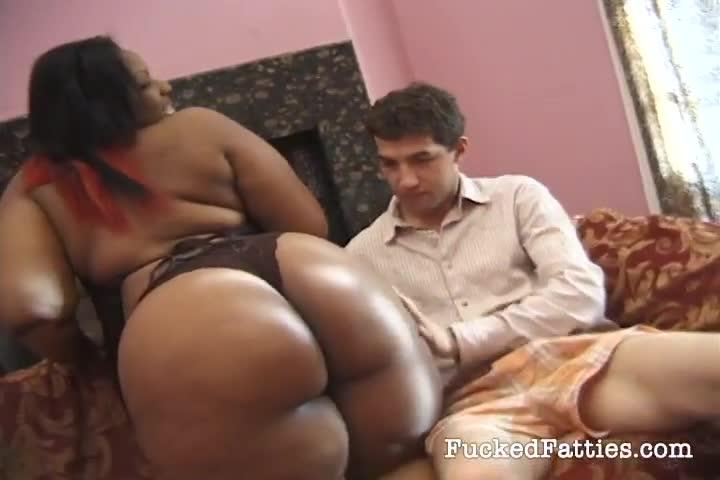 Ebony White Guy Massage