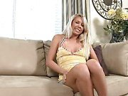 Busty Blonde Explores Her Sexual Side