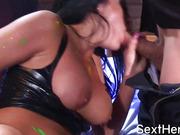 Hot Audrey Bitoni Nailed by Big Dick