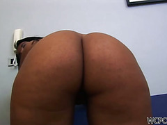 Cute Brazilian whore gets fucked from behind