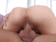 Daisydaniels rides that cock as her juicy ass bounces.