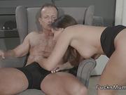 Nice butt Milf sucks and fucks