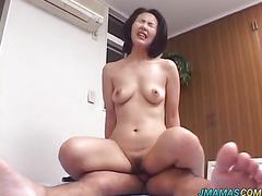 Yoko licks dong before deep drilling