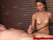 Ebony masseuse Gabriella Ford cbt domination