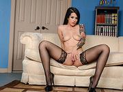Hot and sexy intern Katrina Jade fucked hard on the desk