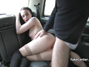 Taxi driver rimming and fucking