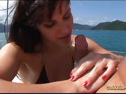 brazilian anal boat trip
