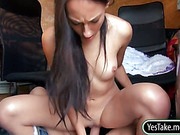 Czech girl El Storm fucked and squirts