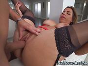 Heels booty latina fucked