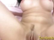 Amateur latina cum soaked