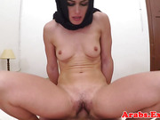 Arab beauty pounded hard for cash