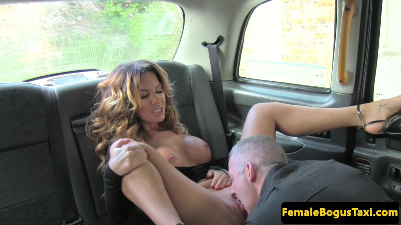 Katrina moreno fucks cab driver's cock for a free ride