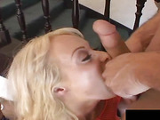 Lauren loves getting bot her holes filled up with thick meat