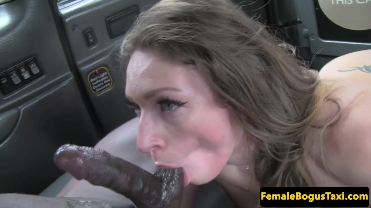 Real busty london cabbie doggystyled in taxi 10